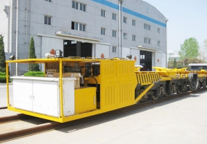 TY180G wheel-track beam conveying vehicle