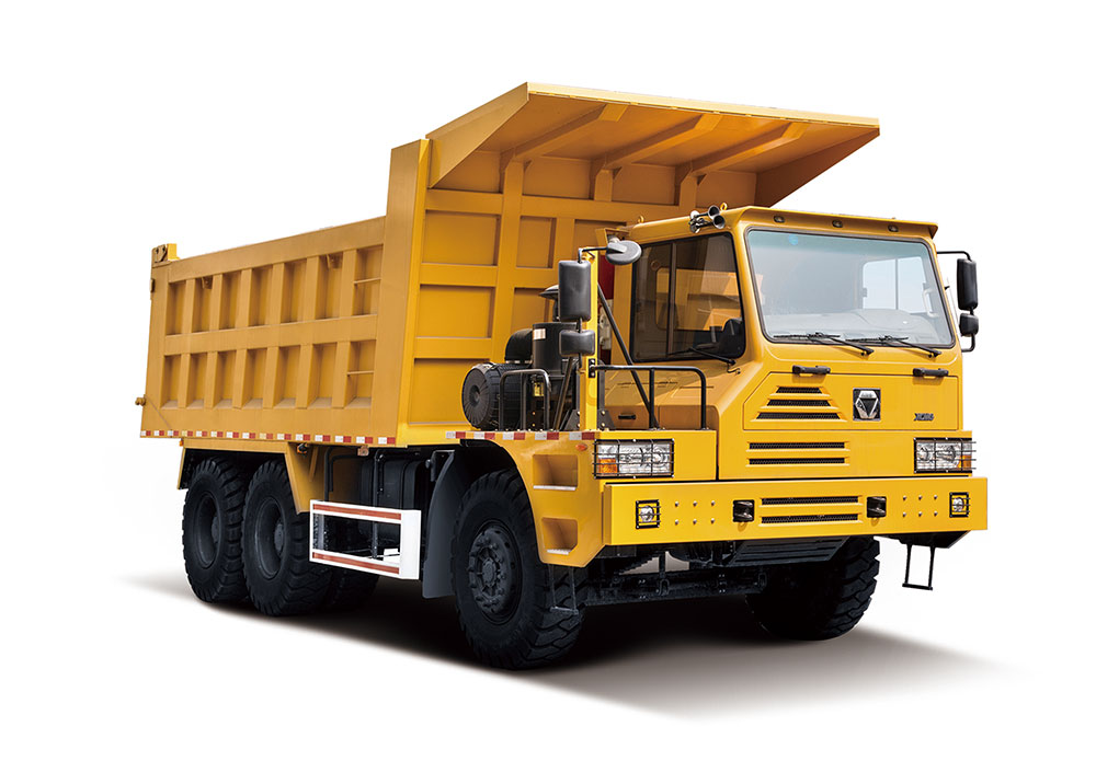 Off-road heavy-duty tipper