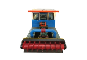 Cutter Suction Dredger With Vegetation Cutter Assembly
