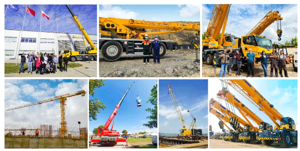 Amid Covid-19, XCMG's Full Line of Crane Equipment Marches into Europe!