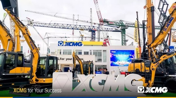 Bauma Munich 2019 |XCMG Charged into High-end Markets. 5 Models of XCMG Excavators Are Shining at Bauma Munich!