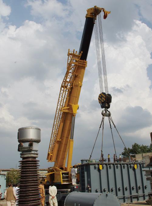 起重机助力南亚巴基斯坦拉合尔国家电力公司项目