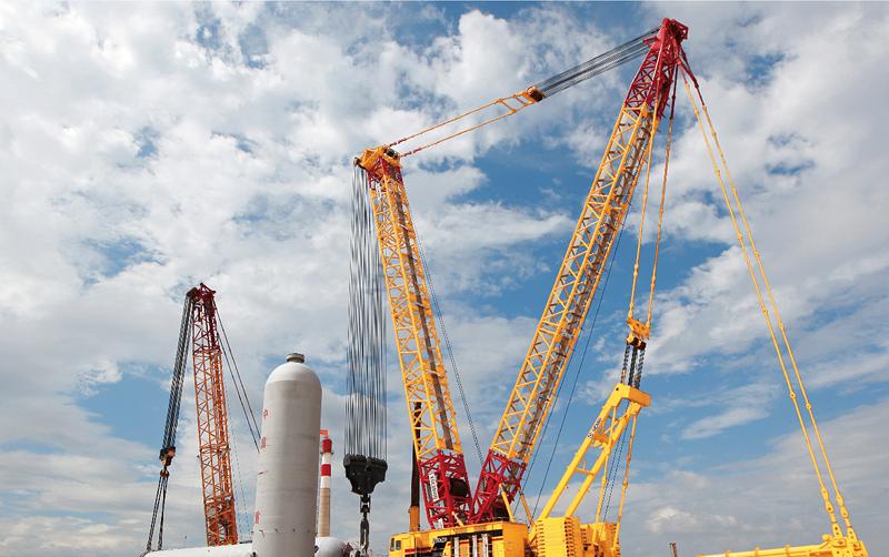 双机抬吊递送保证吊装安全高效