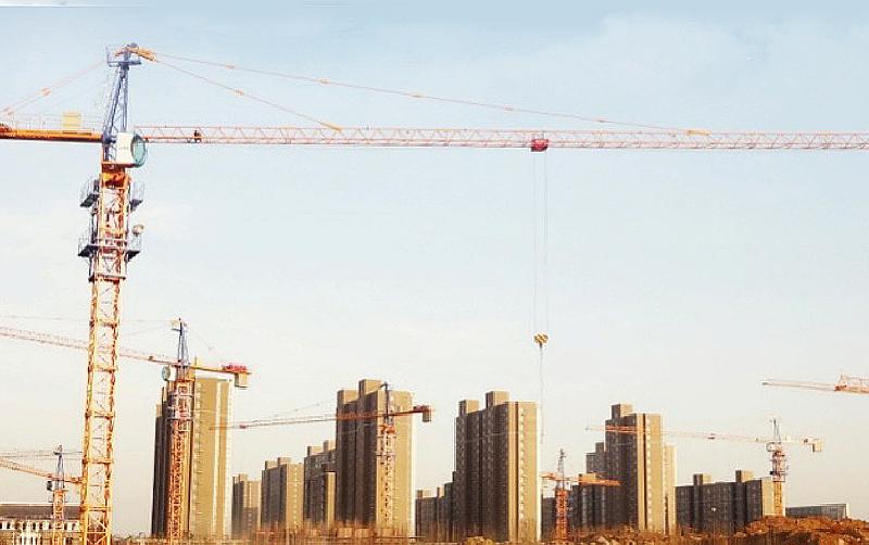 塔机助力徐州城镇化建设
