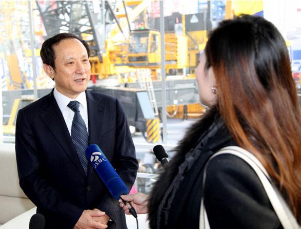 中国之声:第六届中国国际工程机械博览会在上海开幕