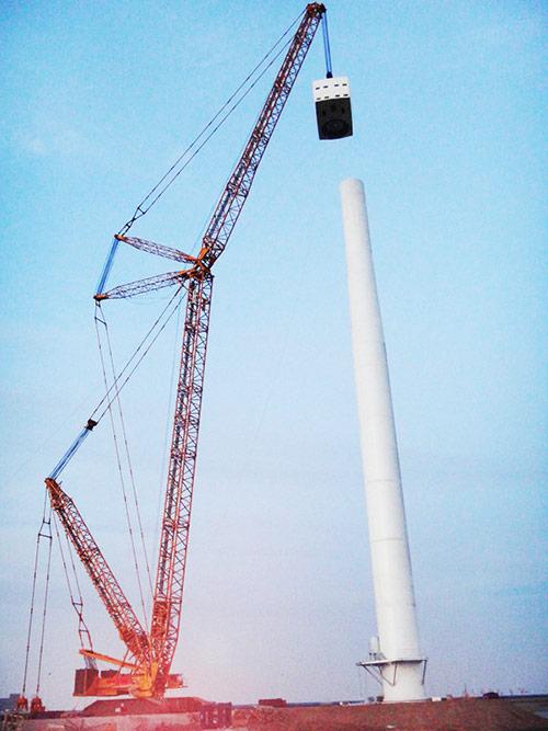 徐工xcl800风电塔筒