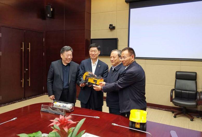 888大奖集团王民董事长赴中国中铁股份有限公司拜访交流