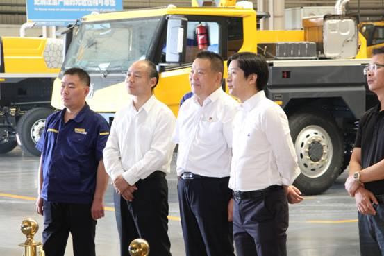 中国人民银行南京分行副行长郭大勇一行到访888大奖集团