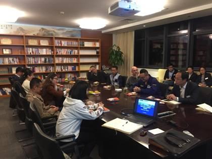 财务公司外汇外语培训首邀外籍英语母语者进行分享交流