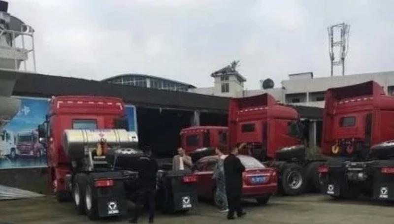 漢風入蜀,20台天然气牵引车分批交付客户