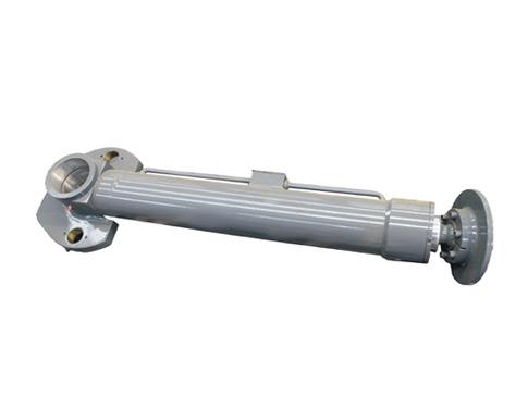 徐工70k支腿水平油缸拆装结构图