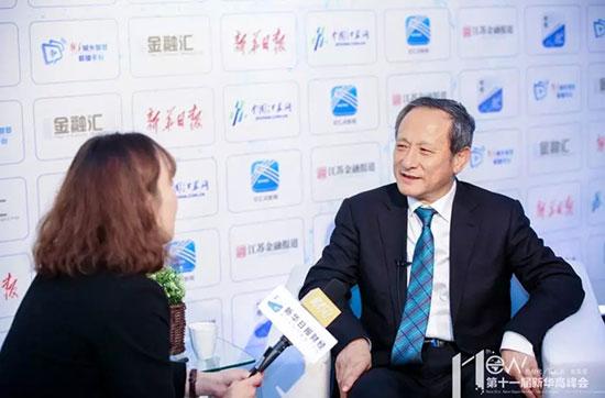 王民董事长:打造智能化徐工,跻身行业顶尖水平!  新华日报财经视频专访